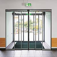 Телескопическая раздвижная дверь DORMA TST FLEX