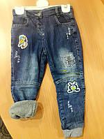 Детские джинсики утепленные на махре 98 размер