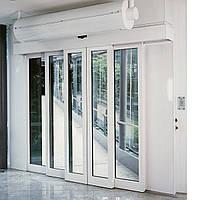 Телескопическая раздвижная дверь TST R