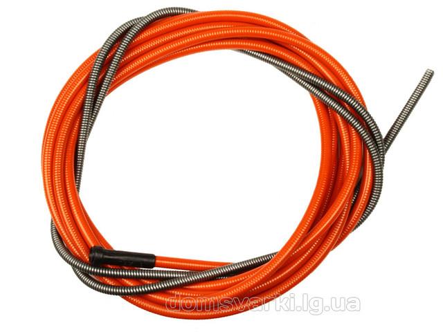 Спираль подающая красная L-540мм для проволоки d-1,0-1,2мм