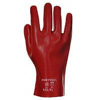 Перчатки защитные с ПВХ обливом Portwest A427