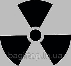 Вінілова наклейка на телефон - Radioactive