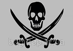 Вінілова наклейка на телефон - Пірат 2