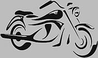 Виниловая интерьерная  наклейка Байк 2 (от 5х10 см)