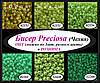 Бисер Preciosa Чехия 50 г, 10/0, зелёный, виноградный