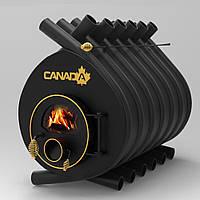 """Булерьян канадская печь CANADA """"Classic 04"""" 1100 м3 (стекло или защитный декор кожух)"""