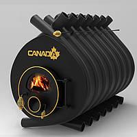 """Булерьян канадская печь CANADA """"Classic 05"""" 1400 м3 (стекло или защитный декор кожух)"""