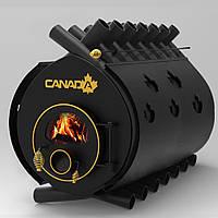 """Булерьян канадская печь CANADA """"Classic 05"""" 1400 м3 (стекло + защитный декор кожух)"""