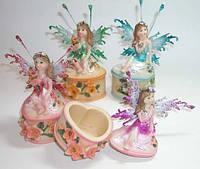 Сувенир керамика ФЕИ - шкатулки