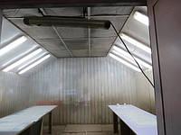 Покрасочная камера бу с приточной вентиляцией для мебельных фасадов и деталей 4*4 м, фото 1