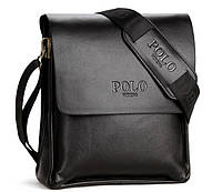 Мужская сумка Polo 3012Вl_Bs  черная, фото 1