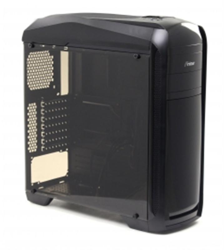 Корпус Frime FC-902B/Blue LED без БП USB3.0 (2 Blue LED cooler, Cardreader, Transparent side panel)