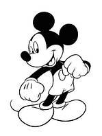 Виниловая наклейка детская (Микки Маус ) (от 25х15 см)