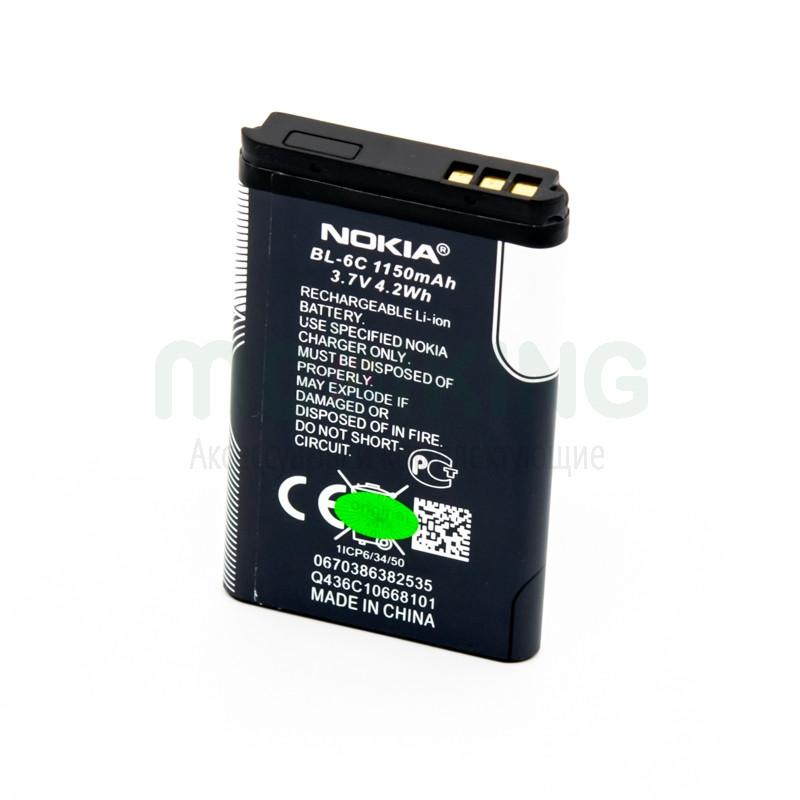 Оригинальная батарея Nokia 6C для мобильного телефона, аккумулятор.