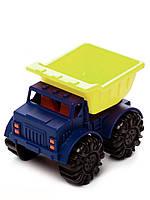 Игрушка для игры с песком МИНИ-САМОСВАЛ цвет лаймовый-океан Battat (BX1418Z)