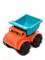 Игрушка для игры с песком МИНИ-САМОСВАЛ цвет папайя-морской Battat (BX1439Z)