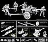 10,5cm Le FH18/40 w/Gun Crew 1/35 DRAGON 6795, фото 3