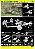 10,5cm Le FH18/40 w/Gun Crew 1/35 DRAGON 6795, фото 4