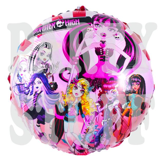 Фольгированный воздушный шар Монстер Хай