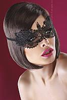 Маска на лицо кружевная Модель №12 от Livia Corsetti (Польша) Цвет черный
