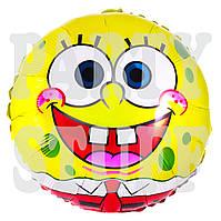 Воздушный шарик фольгированный Губка Боб, 44 см