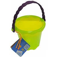 Игрушка для игры с песком и водой МИНИ-ВЕДЕРЦЕ цвет лаймовый Battat (BX1437Z)