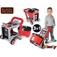 Мастерская Тележка с инструментами игрушечная Black & Decker Smoby 360202