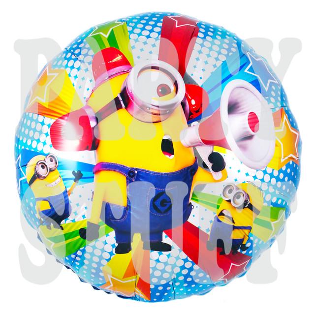 фольгированные шарики Миньоны