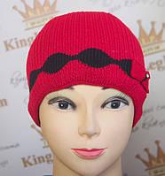 Женская шапка  Trico Ромбы