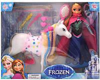 Кукла Frozen с лошадью и аксессуарами 6699-3