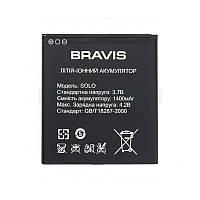 Батарея на Bravis Solo оригинальный аккумулятор для мобильного телефона.