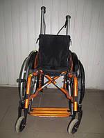 Инвалидная спортивная коляска OTTO BOCK оранжевая 85/105 см