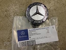 Значок на капот вместо звезды Mercedes S S-Class W220 1998-06 новый оригинальный