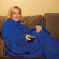 Флисовый плед-одеяло с рукавами Snuggie Blanket (Снагги)