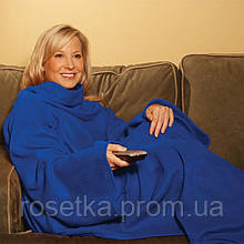 Флісовий плед-ковдра з рукавами Snuggie Blanket (Снаггі)