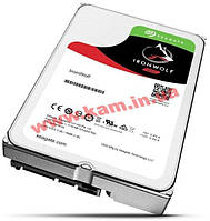 Жесткий диск Seagate IronWolf NAS 1.0TB 5900rpm 64MB (ST1000VN002)