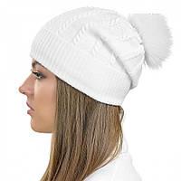 "Женская шапка Visse ""Алиста"" белая"