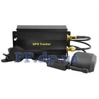 GPS трекер GPRS спутниковая авто сигнализация GSM без абон платы TK103