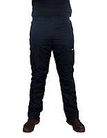 Зимние спортивные штаны Nike синие (на синтепоне)