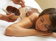 Как научится делать массаж с помощью шоколада