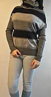 Красивейшие свитера в крупную полоску