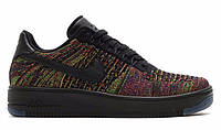 "Кроссовки Nike Air Force 1 Low Ultra Flyknit ""Bright Crimson - Court Purple"" - ""Разноцветные"""
