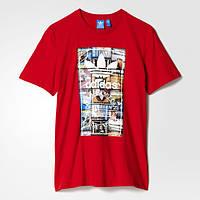 Мужская футболка Adidas Originals Back-To-School (Артикул: AY7818)