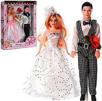 Набор кукол жених и невеста F215A