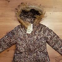 Пальто Зимнее для девочки.120-160 рост.Пух.