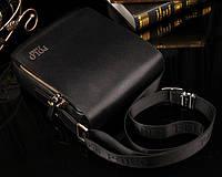 Мужская сумка Polo Fanke 4361B черная, фото 1
