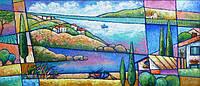 Картина морской пейзаж Крым (декорирование помещений картинами)