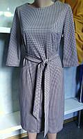 Женское платье большого размера строгое