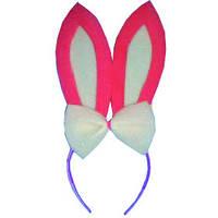 """Обруч """"Ушки зайца"""" для девочки, 1501-3006"""