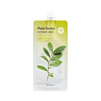 Ночная маска с экстрактом зеленого чая Missha Pure Source Pocket Pack - Green Tea, 10 мл